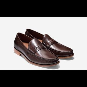 Men's Cole Haan Gotham Penny Pinch Loafers Brown